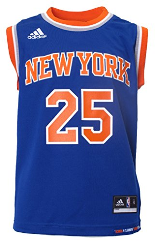 Youth Derrick Rose New York Knicks Replica Basketball Jersey by Adidas (L=14-16)