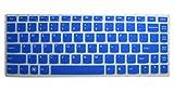 Ultra Thin Silicone Gel Keyboard Protector Cover Skin for IBM Lenovo IdeaPad U300 U300s U310 U400 U410 U430 U430p Z400 P400 S300 S400 S405 YOGA 13-IFI, Yoga 2 13