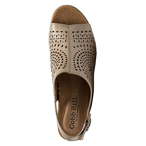 Cobb Hill Womens Ainsley Slingback, Kaki Leder, Us 7 W