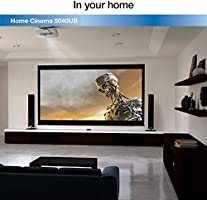 Epson Home Cinema 5040UB 3LCD Home Theater Projector with 4K Enhancement,  HDR10, 100% Balanced Color and White Brightness, Ultra Wide DCI-P3 Color