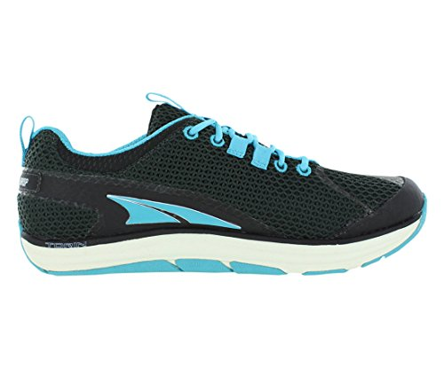 Altra Women's The Torin Running Shoe,Black/Scuba Blue,11 B US