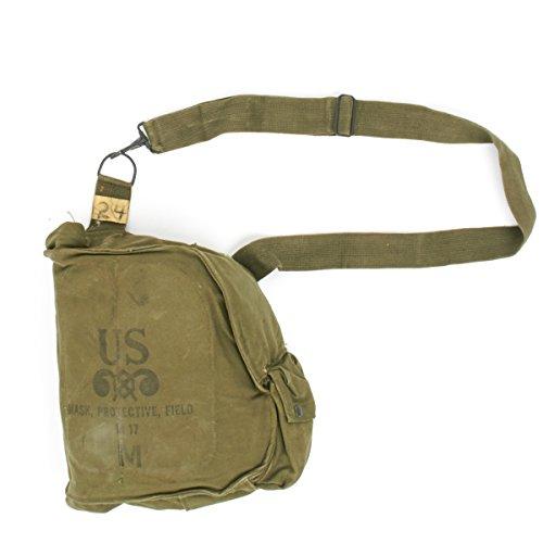 Original U.S. Vietnam Era M17 Gas Mask Bag for USMC for sale  Delivered anywhere in USA