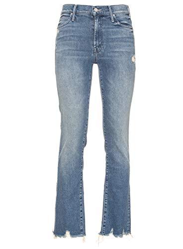 Cotone Blu Donna Jeans 1194470adht Mother 4xRzwqHw