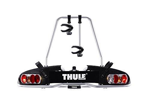 Der Fahrradträger 915020 EuroPower 915 von Thule ist auch für den Transport von E-Bikes geeignet.