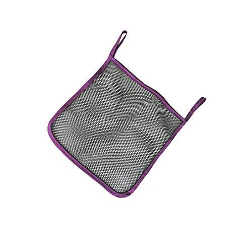 OurLeeme Purple Baby Stroller Accessories Pushchair Pram Mesh Bag Baby Stroller Mesh Bag