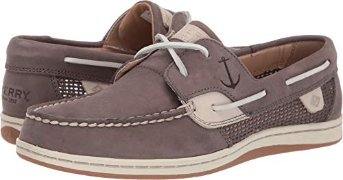 - Sperry Women's Koifish Mesh Boat Shoe Grey 085 M US