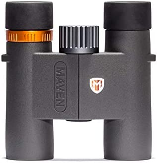 Maven C2 7X28mm Compact Binoculars Gray Orange