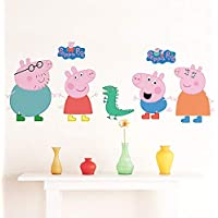 Removable Wall Sticker – Peppa Pig Family