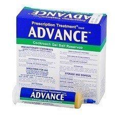 Advance Cockroach Gel Bait 0.5% Dinotefuran 1 Box (4x30 gram) Syringes