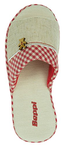 Rot Pour Chaussons Rouge Femme Beppi 04wCqTW