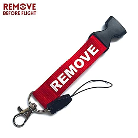 Amazon.com : Key Rings Remove Before Flight 5Pcs DIY Lanyard 55cm Key Neck Strap Card Badge Gym Key Ring Rope Keychain Hanging Pendant Turbo Keychain ...