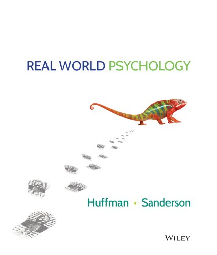Real World Psychology Binder Ready Version + WileyPLUS Registration Card