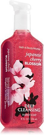 Bath & Body  Deep Cleansing Hand Soap Japanese Cherry (Cherry Blossom Hand Lotion)