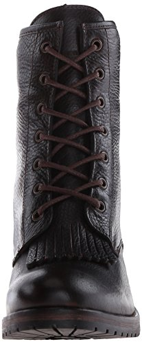 1883 6 by Kiltie Boot Burgundy Rosie Up Lace Western Wolverine Inch Women's qfORq