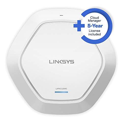 chollos oferta descuentos barato Linksys LAPAC1200C EU Punto de Acceso Inalámbrico de Doble Banda AC1200 con gestión en la Nube Blanco
