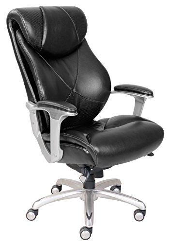 Lazboy 45776A La Z Boy Cantania Chair Air Technology Executive Office  Black