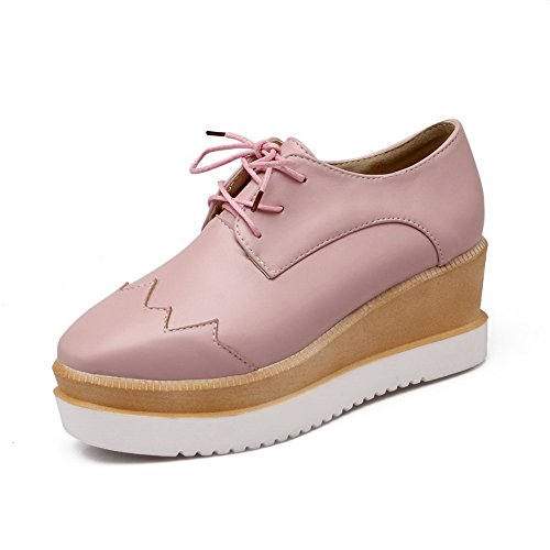 Resistant Loafers Pink Toe Pointed Fashion Slip Urethane SDC03850 Shoes AdeeSu Womens Urethane w8S1qPY4
