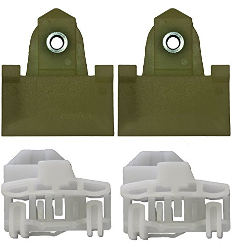Door Window Channel Kit (PT Auto Warehouse WL-7134808 - Window Sash Channel Door Glass Retainer Kit, 4 pcs - Driver Side Front)