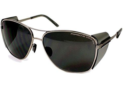 Price comparison product image Porsche Design P8600 A (Silver - Transparent Grey with Black lenses)