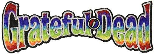 Application Grateful Dead Rainbow Logo Patch