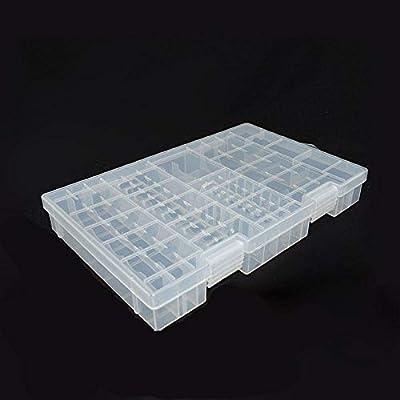 Powerlion PL-B001M - Caja Protectora para Pilas AA AAA (9 V ...