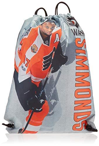 (Philadelphia Flyers Simmonds W. #17 Printed Player Name Drawstring Backpack)