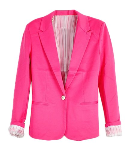 hot pink blazer for women - 9
