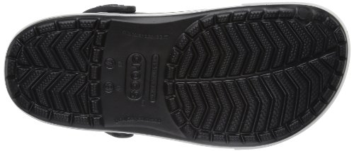 Crocs Unisex Adults' Crocband Ii.5 Clogs Black (Black/Charcoal) Jposv0