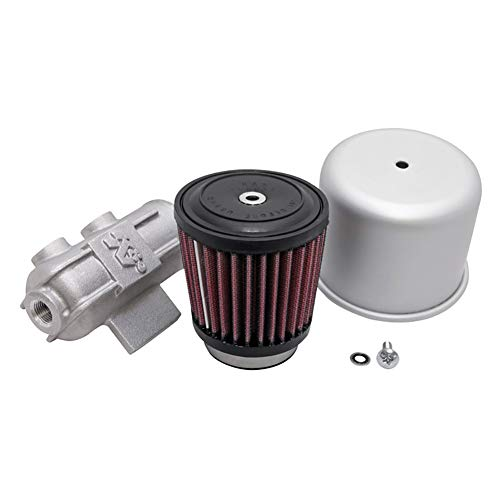 K&N 62-1410 Vent Air Filter / Breather: Vent Air Filter/ Breather; 1 in (25 mm) Flange ID; 2.375 in (60 mm) Height; 3 in (76 mm) Base; 3 in (76 mm) Top