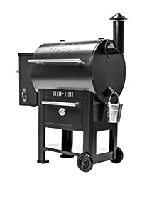 Traeger TFB57CLB Century 22 Pellet Grill with Built In Warming Drawer - Grill, Smoke, Bake, Roast, Braise and BBQ, (Black) made by  legendary Traeger Grills