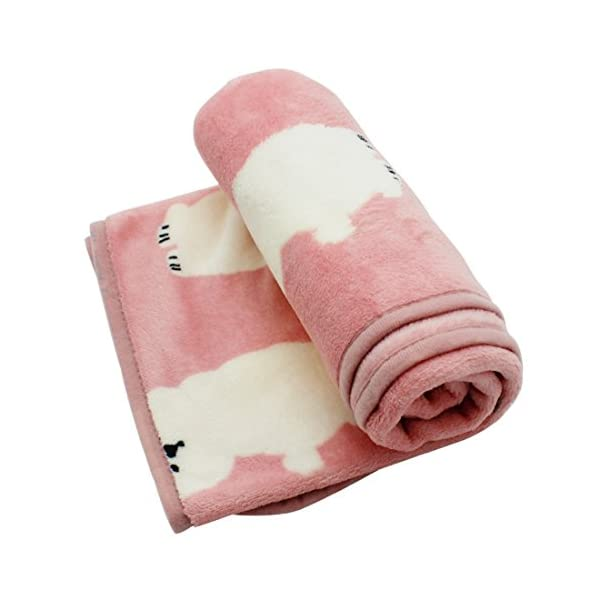 (Bichon) – Scheppend Cosy Cuddly Pet Fleece Blanket Dogs Cats Bed Throws for Couch,Car Backseat,Crate,Kennel and Carrier Click on image for further info. 2