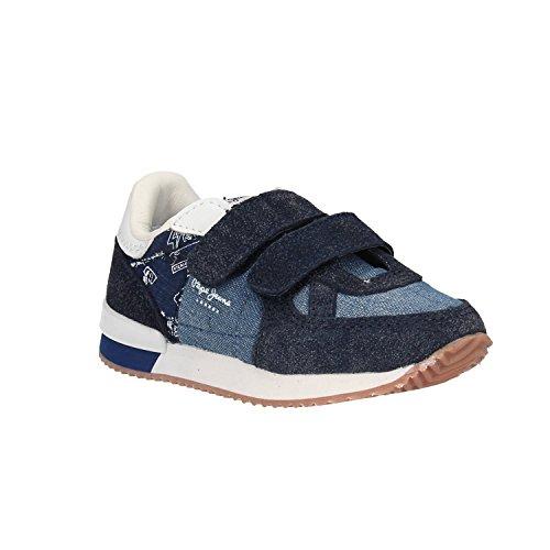 Pepe Jeans Sneakers PBS30351 559DK Denim Blue cheap sale low price top quality cheap online good selling cheap online buy cheap wholesale price lp56lENZV