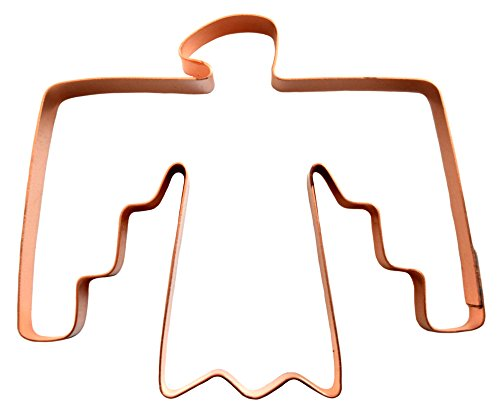 Cookie Solid Copper Cutter - The Tribal Thunderbird Copper Cookie Cutter