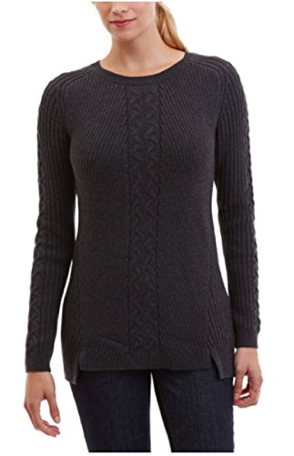 Nautica Womens Single Cable Sweater