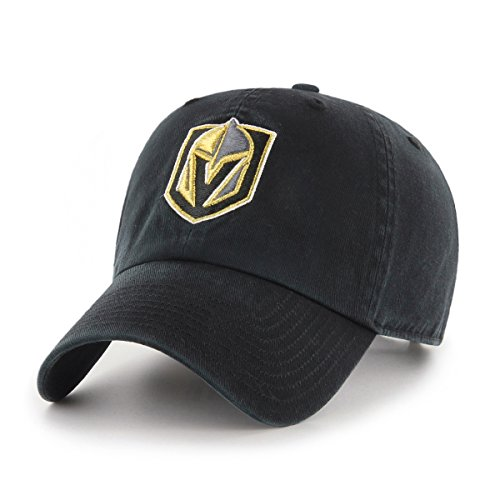Knights Classic Hat - NHL Vegas Golden Knights Women's OTS Challenger Adjustable Hat, Black, Women's