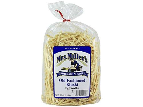 (Mrs Miller Kluski Noodles, 16-Ounce Bags (Pack of)