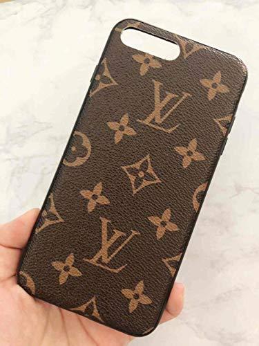 Phone Case for iPhone 7 Plus 8 Plus, Classic Monogram Vintage Style Elegant Luxury Fashion Designer with Case Cover iPhone 7Plus 8Plus- US Fast Deliver Guarantee FBA
