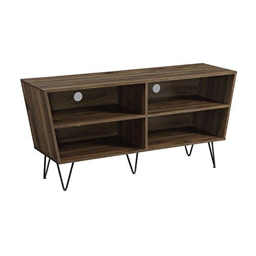 WE Furniture AZ52CRODW TV Console, 52 , Dark Walnut