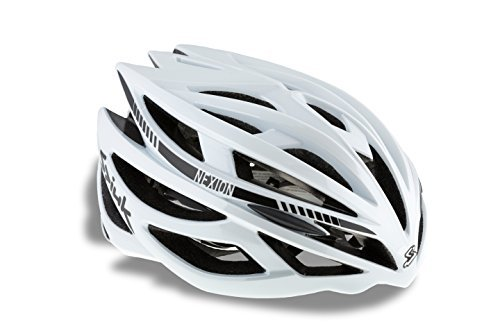 Spiuk Nexion - Unisex cycling helmet, colour white, size 53 - 61 by SPI