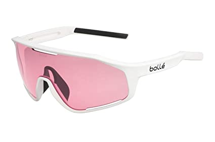 b8fcf6d7b2 Image Unavailable. Image not available for. Color  Bolle 12505 Shifter Matte  White Sunglasses ...