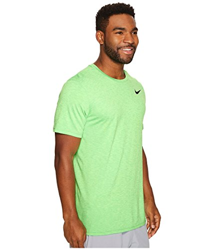 Jordan Nike Mens Lopende Training T-shirt Ghost Groen / Zwart
