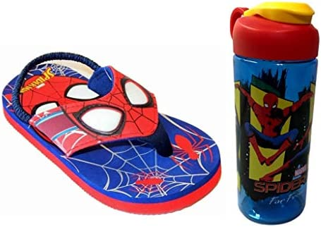new spiderman boys sandals size 2