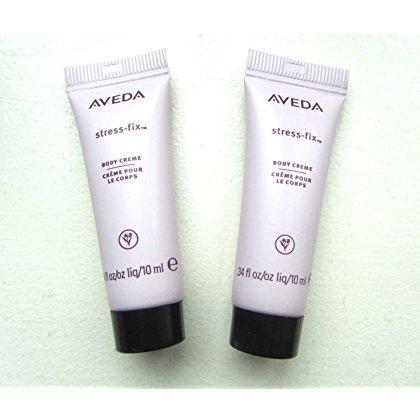 Aveda Stress Fix Body Creme, Sample Sizes Set of 2 .34 Oz Each