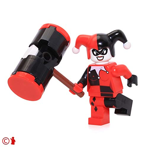 LEGO Super Heroes: Batman Minifigure - Harley Quinn (with Black Mallet) 6857 ()