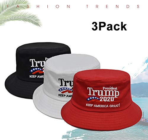 Himamk 3 Pcs Donald Trump 2020 Cap Hat Gorras de Disfraz ...