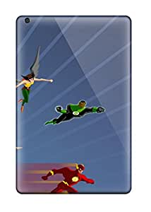Best 3054752K37885680 Premium Ipad Mini 3 Case - Protective Skin - High Quality For Justice League