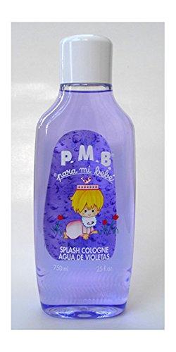 3 Para mi Bebe Baby Cologne 25 oz./750 ml (Violet)