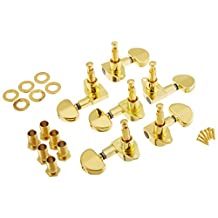 1set 3L3R grover - style tunning pegs Tuners Machine Heads Gold High Quality