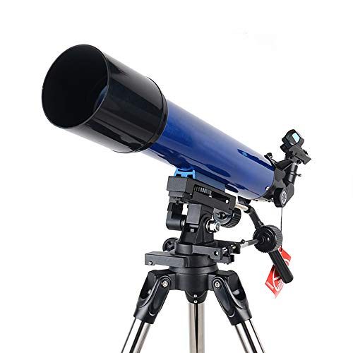 N \ A Telescope for Kids Beginners Adults, 90mm Astronomy Refractor Telescope with Adjustable Tripod, Finder Scope and Phone Adapter, Perfect Telescope Gift for Kids