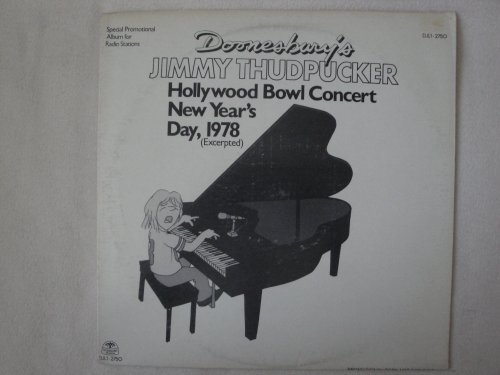 Price comparison product image Doonesbury's Jimmy Thudpucker Hollywood Bowl Concert New Year's Day, 1978 Windsong Records DJL1-2750 Special Promotional Album for Radio Stations Viny Lp Record Nm